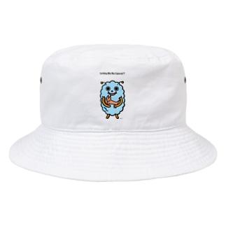 宇宙人もしゃもとペット Bucket Hat