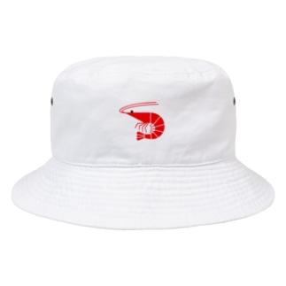 エビ(アカ) Bucket Hat