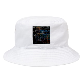 Tokyo Tower Sky Bucket Hat