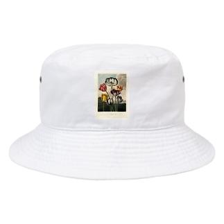フローラの神殿 - チューリップ Bucket Hat