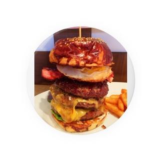 ハンバーガー3段 Badges