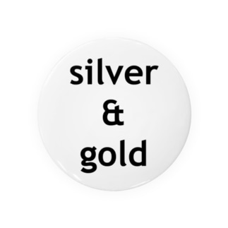 silver & gold Badges