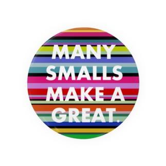 Many smalls make a great. Badge