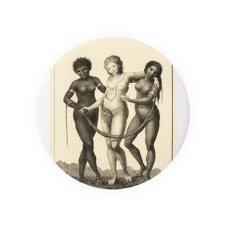 3大美女 缶バッジ