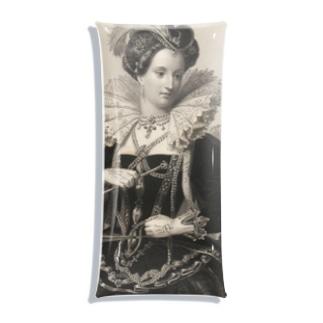 英国女王エリザベスⅠ世 Clear Multipurpose Case