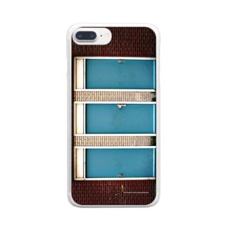 どのドア Clear smartphone cases