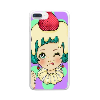cake*girl Clear smartphone cases