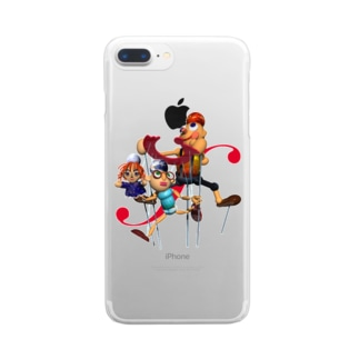 カランドール Clear smartphone cases