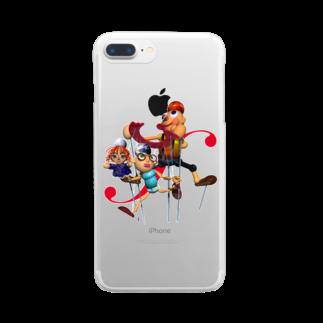 石田 汲のカランドール Clear smartphone cases