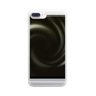 「音なき世界」 Clear smartphone cases