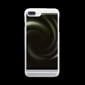 宇宙の贈りものの「音なき世界」 クリアスマートフォンケース