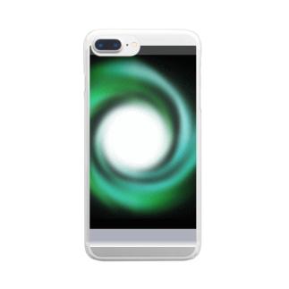 「時の音色」 Clear smartphone cases