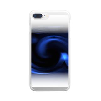 「ミステリー宇宙」 Clear smartphone cases