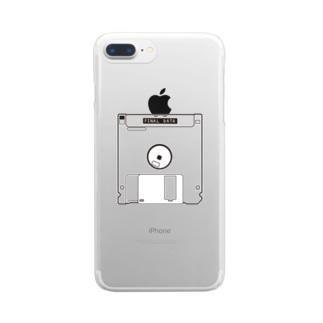 てなが.jpのFinalData Clear smartphone cases