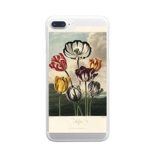 フローラの神殿 - チューリップ Clear smartphone cases