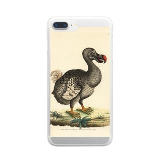 絶滅したドードー鳥 Clear smartphone cases