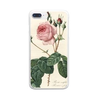 『バラ図譜』  Clear smartphone cases
