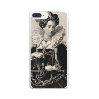 英国女王エリザベスⅠ世 クリアスマートフォンケース