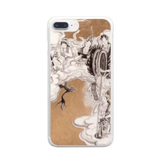 ほとけさま Clear smartphone cases