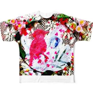 春が来た~♪ Full graphic T-shirts