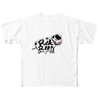 栗原進@夢の空想画家のRock'nRoll-GYU Full graphic T-shirts