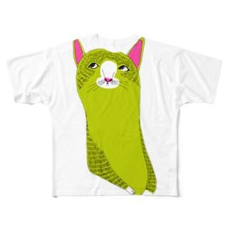 LOVELOVECAT Full graphic T-shirts