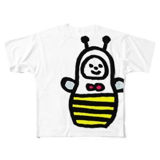 はちリョーシカ Full graphic T-shirts