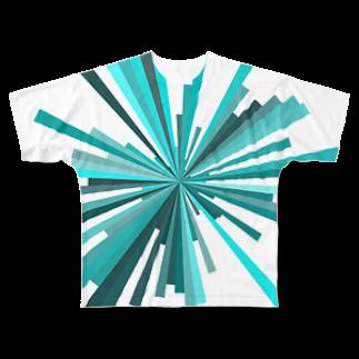 レオナのPiecesフルグラフィックTシャツ