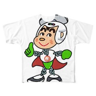 秤屋勘三郎 異能兄弟シリーズ03 Full graphic T-shirts