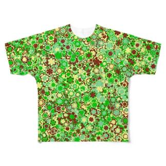 Camouflage(Flower) フルグラフィックTシャツ