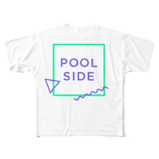 POOLSIDE Full graphic T-shirts