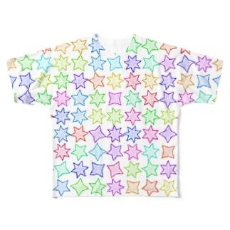 Stars Full graphic T-shirts