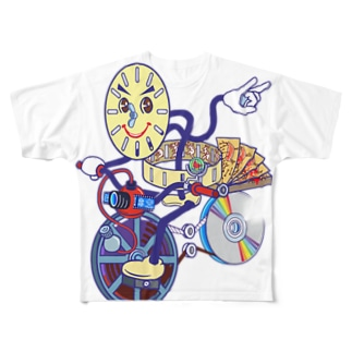 アニメアニムス Full graphic T-shirts