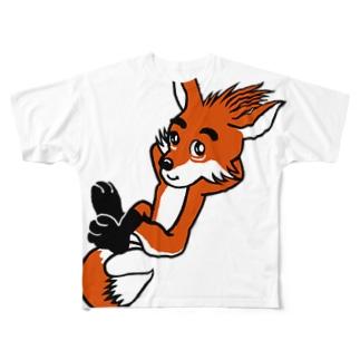 ごんぎつね Full graphic T-shirts