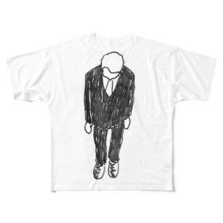 すいません、、、 Full graphic T-shirts