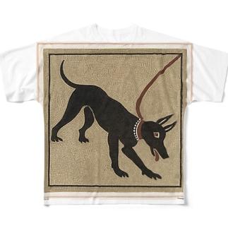 ポンペイの番犬 フルグラフィックTシャツ