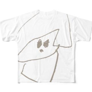 おかっぱのこ フルグラフィックTシャツ