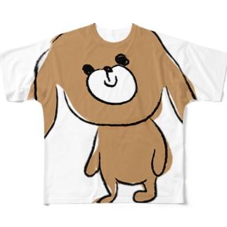 わんた フルグラフィックTシャツ