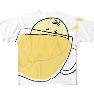 あざらしのなつ フルグラフィックTシャツ
