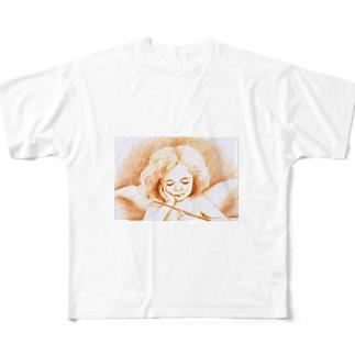 いたずら天使 フルグラフィックTシャツ