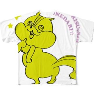 おねだりリスちゃん フルグラフィックTシャツ