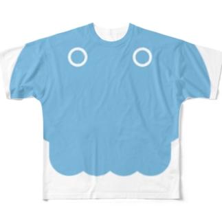 くらげのきせつですね フルグラフィックTシャツ