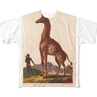 『博物学の普遍的システム』 Full graphic T-shirts