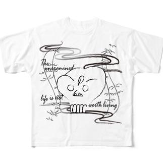 CG-KONDO-DOKURO Full graphic T-shirts