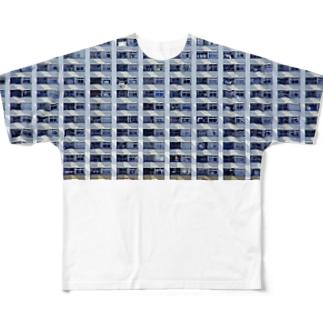 団地 Full graphic T-shirts
