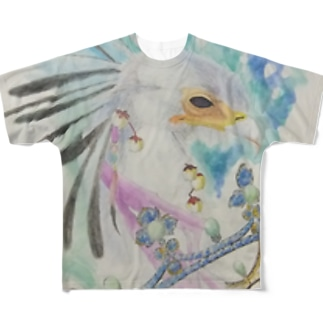 凛と輪 Full graphic T-shirts