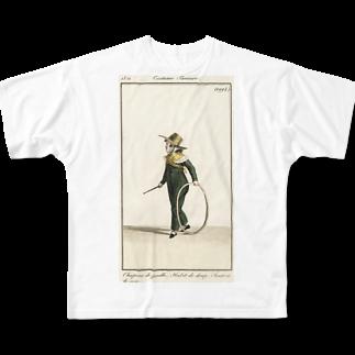 J. Jeffery Print Galleryの大道芸人 Full graphic T-shirts