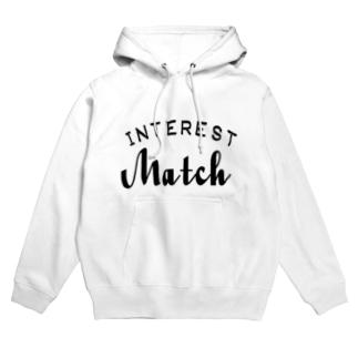 INTEREST Match  Hoodies