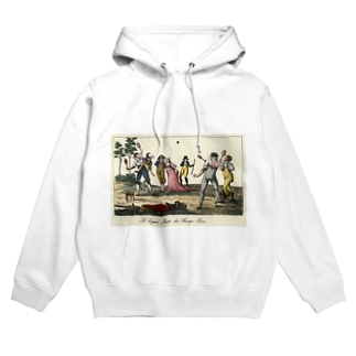 1790年代のテニス Hoodies