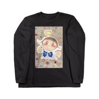 天使 Long sleeve T-shirts